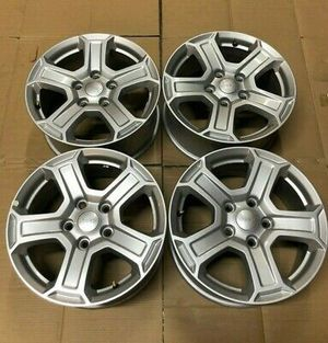 17' Jeep Wrangler Factory Rims for Sale in Portsmouth, VA