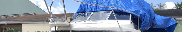 Windshield for bayliner