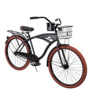 "Huffy 26"" Nel Lusso Men's Cruiser Bike, Matte Black for Sale in Taylor, MI"