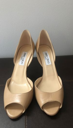 Women's Jimmy Choo Peep Toe Pump for Sale in Arlington, VA