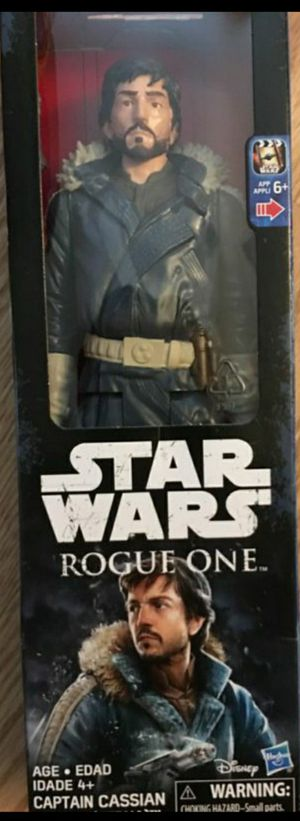 New Star Wars Captain Cassian 12 Inch Action Figure for Sale in Apopka, FL
