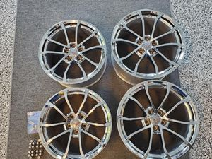 C7 Grand Sport Corvette chrome wheels, lug nuts, and locks for Sale in Stafford, VA