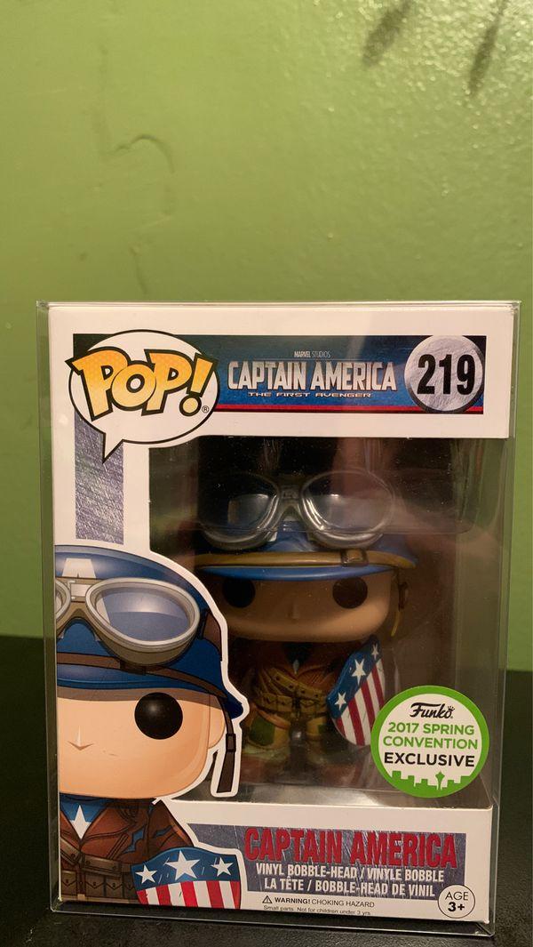 CAPTAIN AMERICA The First Avenger FUNKO POP