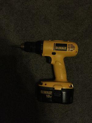 Dewaltz 2 Drill Set for Sale in PA, US