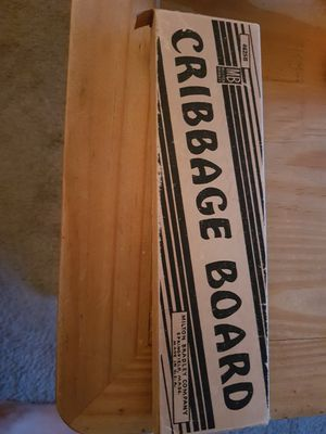 Vintage CRIBBAGE GAME BOARD for Sale in Ontario, CA