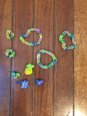 Jewelry for kids comes with 3 bracelets,2 rings,and 4 charms for Sale in Arlington, VA