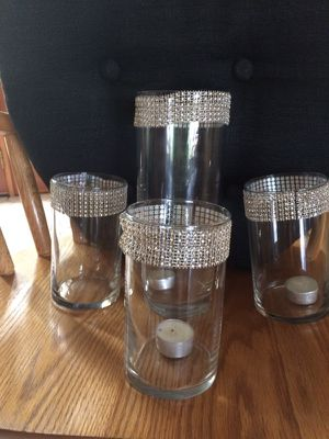 Vases or floating candle holders for Sale in Lynnfield, MA