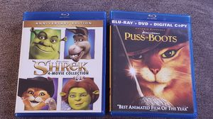 Shrek bluray collection for Sale in Bell, CA