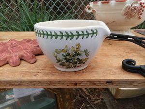 Morter and pestle by famous Portmeirion for Sale in Fair Lawn, NJ