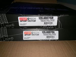 2 !! High performance brake rotor for Sale in Trenton, NJ