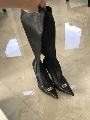 Dior tall boots 7.5 for Sale in Pompano Beach, FL