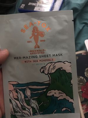 sea tox face mask (mermaid approved:)) for Sale in Lemon Grove, CA