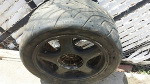 Used, 4 supra twin turbo rims with r888 drags tires for Sale for sale  The Bronx, NY