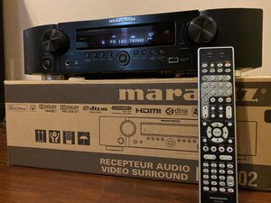 MARANTZ NR1602 AV Receiver HDMI with Remote Control for Sale in Azusa, CA