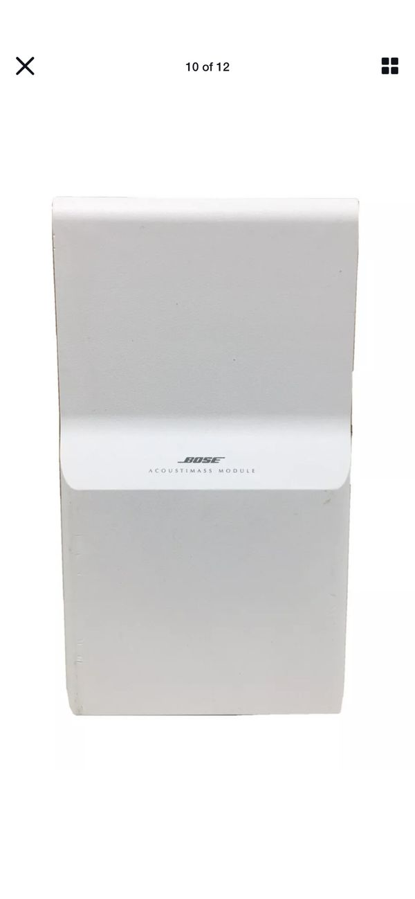 Bose Acoustic Mass Lifestyle 12 System