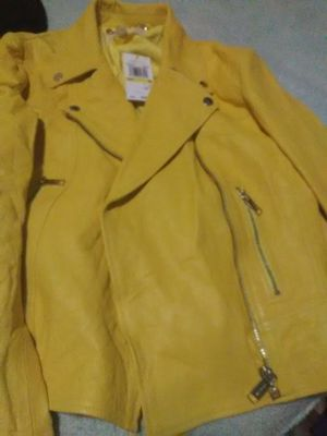 Michael Kors Leather Jacket for Sale in Oklahoma City, OK
