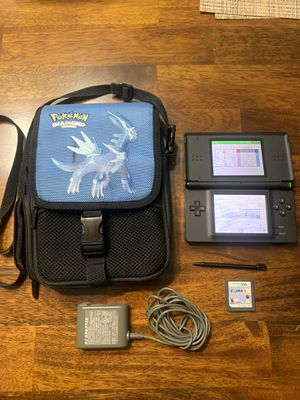 Nintendo DS Lite with case charger stylus and game for Sale in Chicago, IL