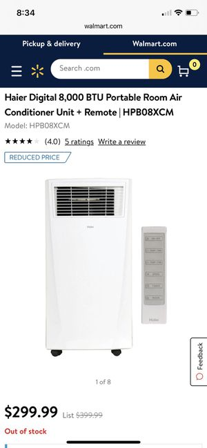 Portable air conditioner for Sale in Baxter, MN