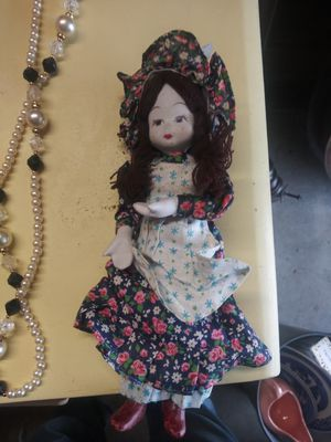 Antique porcelain doll for Sale in Lakewood, OH