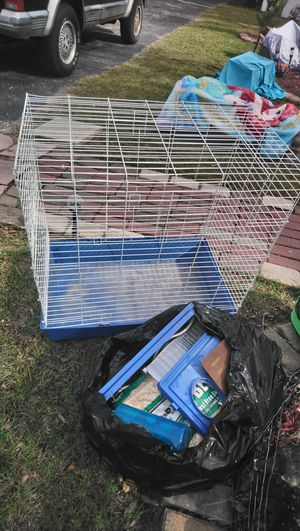 Ferret/Guinea pig cage with supplies for Sale in North Charleston, SC