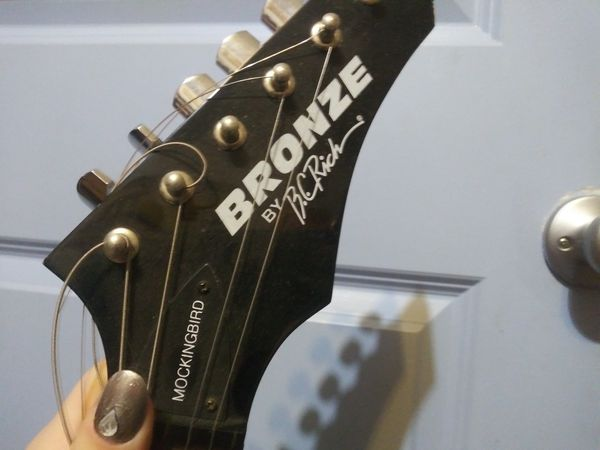 Bronze electric guitar by B.C.Rich