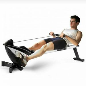 Folding Magnetic Rowing Machine Exercise Body Fitness Rower Exercise Cardio Adjustable Resistance for Sale in Dallas, TX