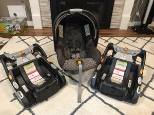 Chicco KeyFit 30 infant car seat for Sale in Redmond, WA