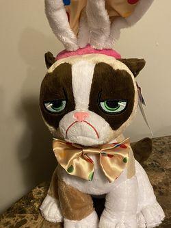 "Grumpy Cat Polka Dots Easter Bunny 17"" Plush for Sale in Providence,  RI"