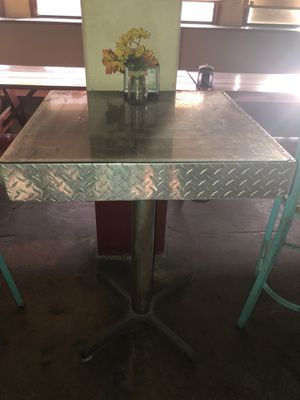 Tables-High Top-Glass-Metal-Solid for Sale in San Diego, CA