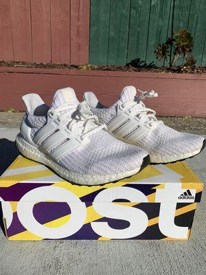 Adidas Ultra Boost 4.0 triple white size 8.5 men w/ box for Sale in San Jose, CA