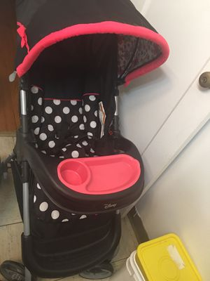 Disney Baby Minnie Mouse Amble Quad Travel System Stroller for Sale in Chicago, IL