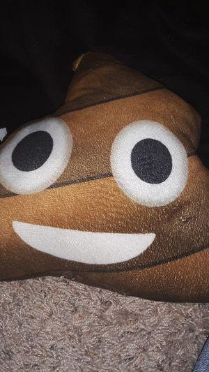 Poop emoji pillow for Sale in Paducah, KY