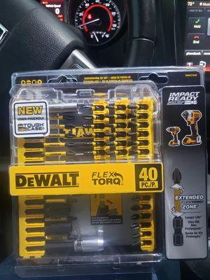Dewalt drill bit set and screwdriver set for Sale in Lewisville, TX