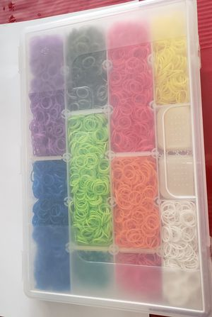 Rainbow loom rubber bands for Sale in Inglewood, CA