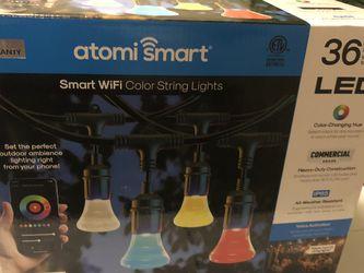 atomi smart led color string lights 36' for Sale in Silver Spring,  MD