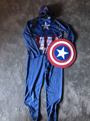 Captain America kids costume- size small for Sale in Los Angeles, CA