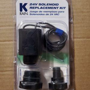 Garden Watering K-Rain 24 Volt Replacement Solenoid Sprinkler for Sale in Weymouth, MA