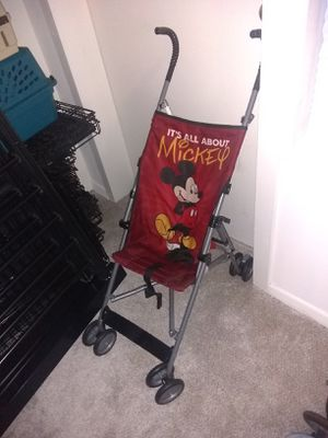 Cute Mickey Mouse Stroller for Sale in Alexandria, VA
