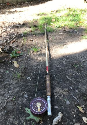 Old Vintage Fly Fishing Rod And Reel Combo for Sale in Haddam, CT