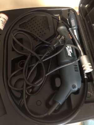Rotary tool and carrying case like new $35 for Sale in Burlington, NC