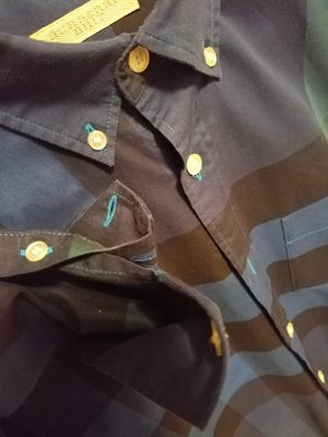 Burberry mens Long Sleeve button up size small for Sale in TX, US