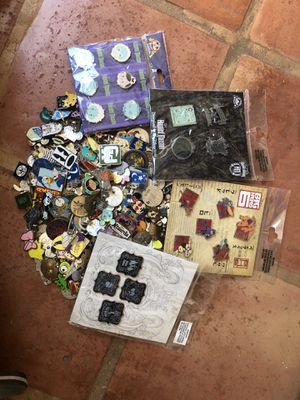 Disney pins and booster sets for Sale in San Diego, CA