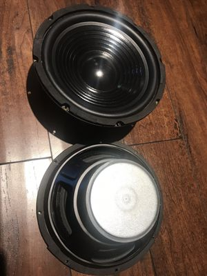 "Pair (2 pcs) Pro 8"" Midrange Speaker 4 ohm Loudspeaker ,home, Car Audio etc for Sale in San Fernando, CA"