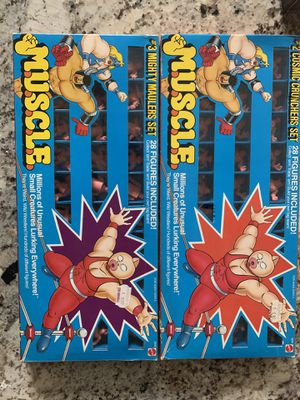 Muscle men collectible full sets box's in great condition for Sale in Anaheim, CA