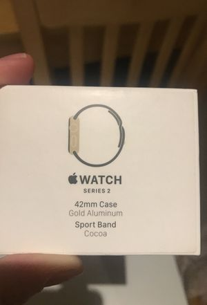 Apple Watch series 2 - Wi-Fi - 42mm gold case - great condition- includes one additional band for Sale in Austin, TX