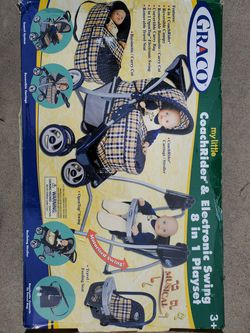 New Graco Doll set !!!! my little CoachRider and Electronic Swing 8 in 1 Playset for Dolls New!!!! for Sale in Los Angeles,  CA