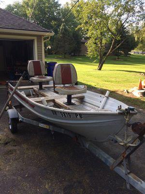 Jon boat fishing boat for Sale in Streetsboro, OH