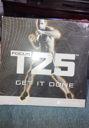 Focus T25 workout at home!! for Sale in San Diego, CA