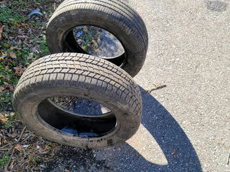 2 New Tires/Both $100/P215-55R15 for Sale in Madison Heights,  VA