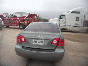 2004 Toyota Corolla for parts for Sale in Dallas, TX